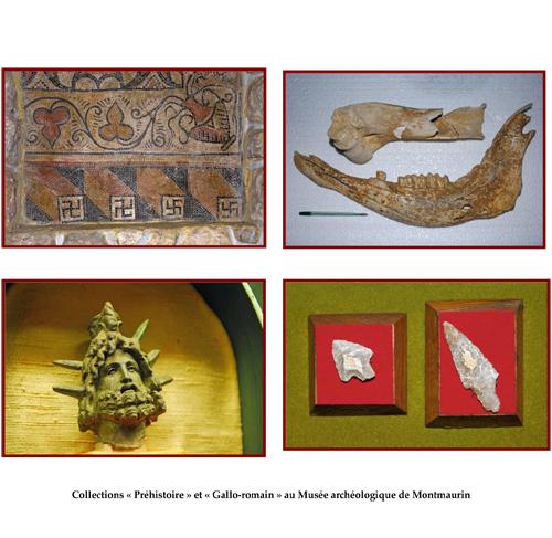 Autres objets remarquables parmi les nombreuses pièces ou documents exposés au Musée de Montmaurin