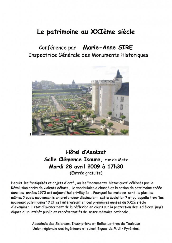2009 04 Avril Sire