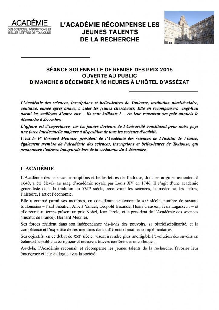 REMISE DES PRIX 2015 a